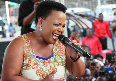 Rebecca Malope is an Inspirational Speaker